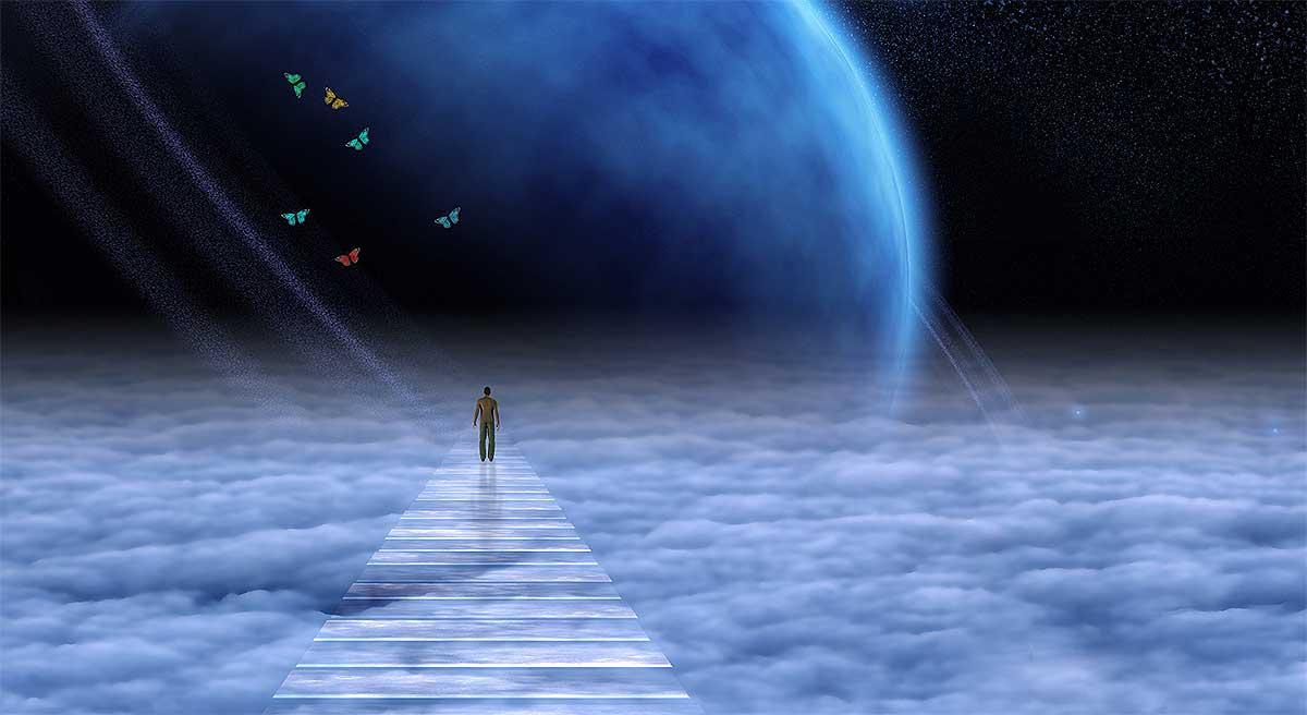 duše ve vesmíru