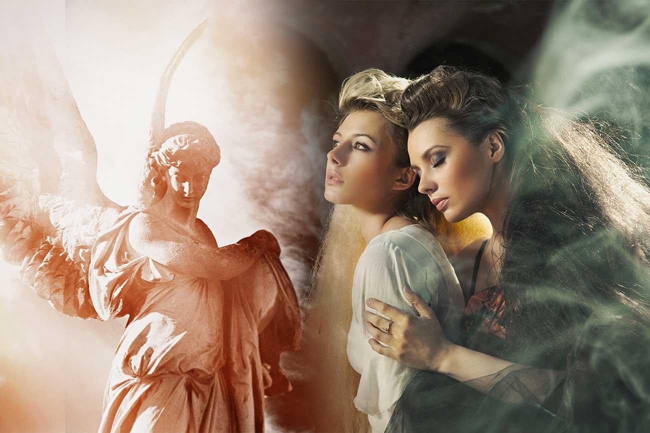 andělé a úzkost
