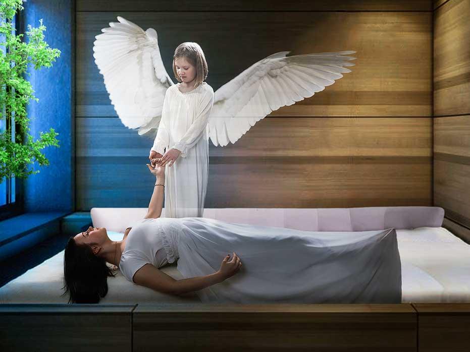 anděl a duše