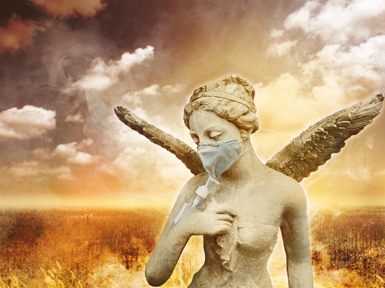 anděl rouška