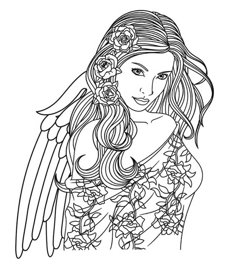 mandala anděl krása