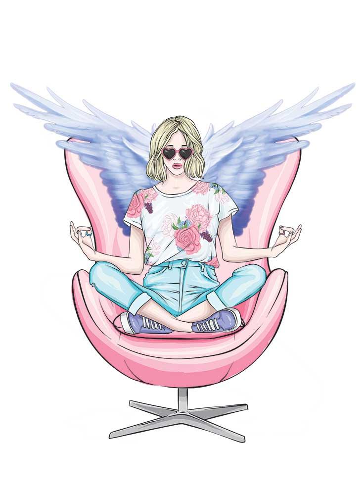 meditace s anděly