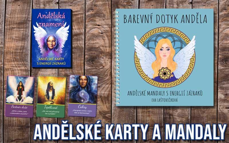 kategorie andělské karty a mandaly