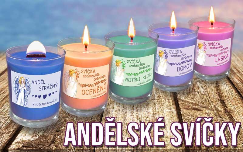 kategorie andělské svíčky