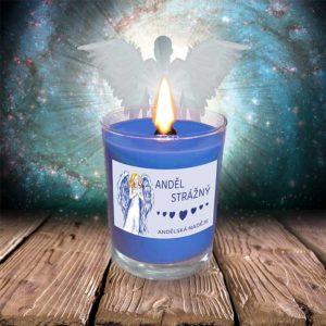 svíčka anděl strážný