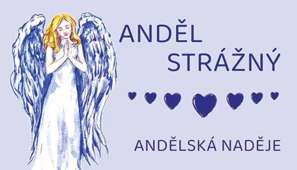 svíčka anděl strážný samolepka