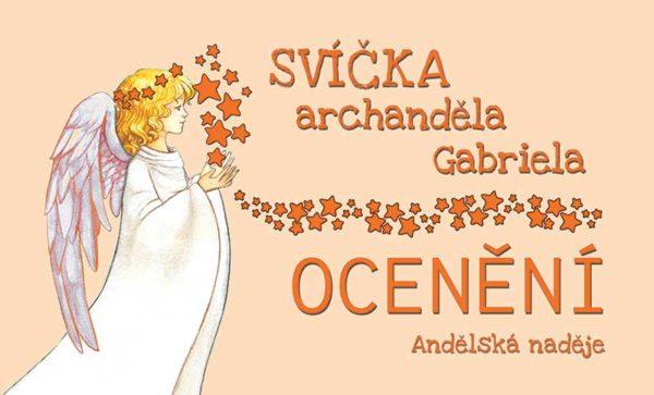 svíčka archanděla Gabriela poster