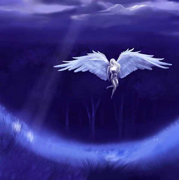 andělská meditace